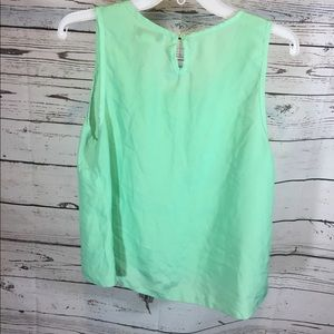 Pinky Tops - Pinky Blouse with Lace Size Large Mint